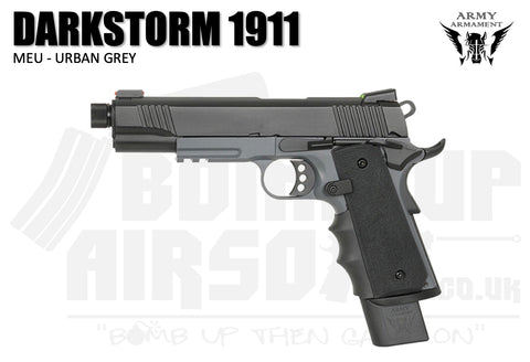 Army Armament Darkstorm 1911 MEU - R32 Urban Grey
