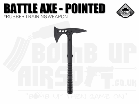 ACM Rubber Battle Axe - Pointed