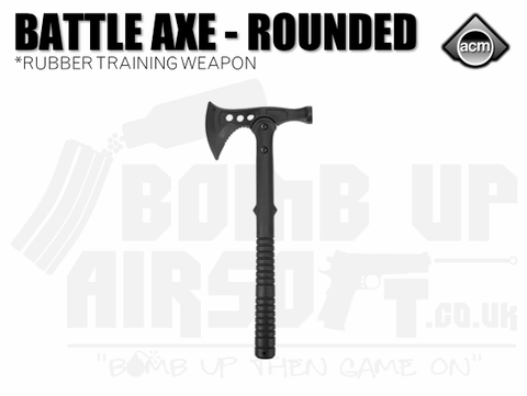 ACM Rubber Battle Axe - Rounded