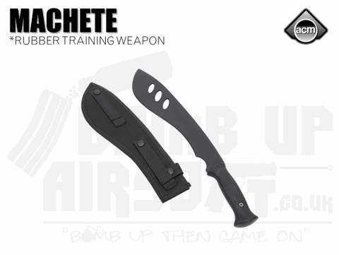 ACM Rubber Flexible Machete