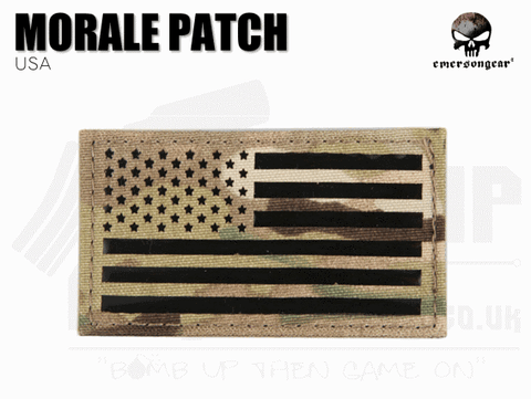 Emerson Gear USA Flat IR - Velcro Patch
