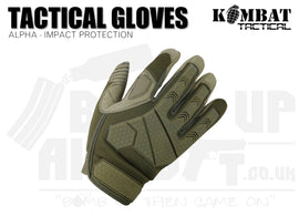 Kombat UK Alpha Tactical Gloves - Coyote - Various Sizes