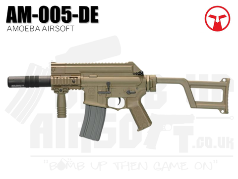 Ares Amoeba Tactical M4 with Silencer AM-005 - Tan