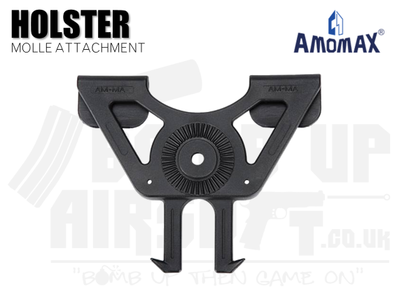 AmoMax Holster Molle Attachment - Black