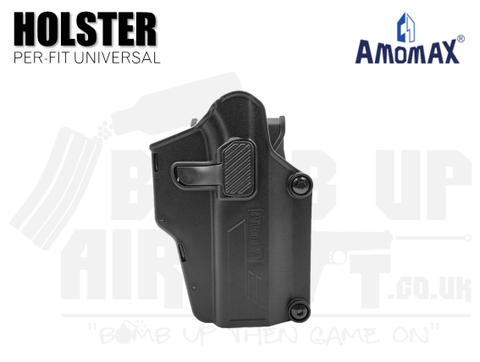 AmoMax Per-Fit Multi Fit Adjustable Holster - Black