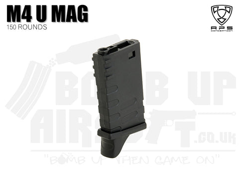 APS Short M4 U Mag - 150 Rounds