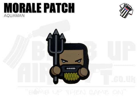 Aquaman Mini PVC Patch