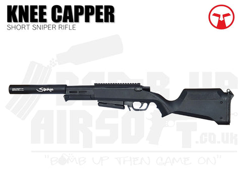 Ares Amoeba Striker Knee Capper Sniper Rifle - Black