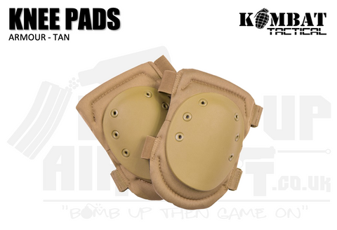 Kombat UK Armour Knee Pads - Tan