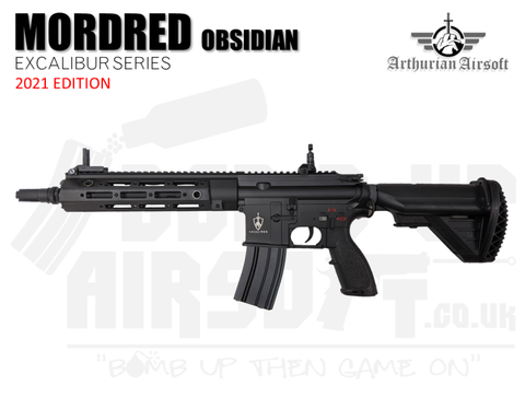 Arthurian Airsoft Excalibur Mordred Obsidian M4 AEG 2021 Edition