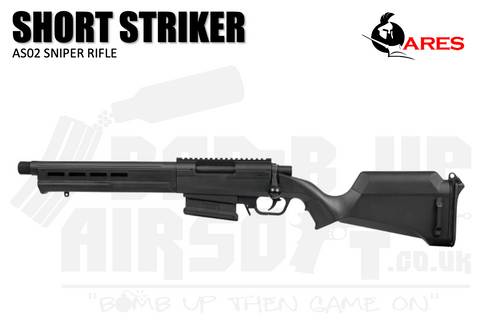 Ares Amoeba AS-02 Striker Sniper Rifle - Short - Black