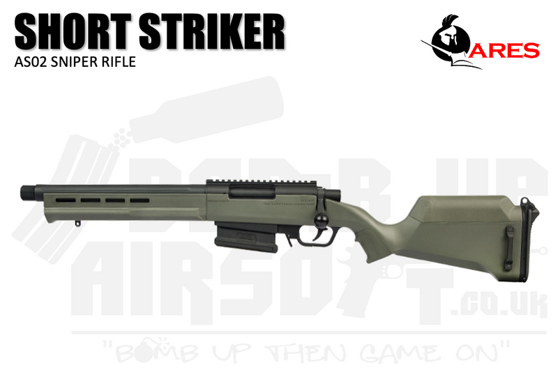 Ares Amoeba AS-02 Striker Sniper Rifle - Short - OD Green