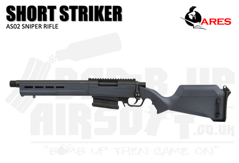 Ares Amoeba AS-02 Striker Sniper Rifle - Short - Urban Grey