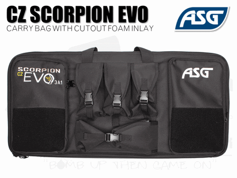 ASG Scorpion Evo Carbine/BET Bag