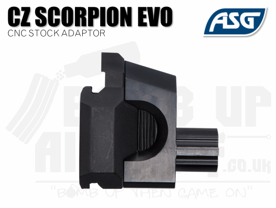 ASG Scorpion Evo Stock Adaptor - CNC
