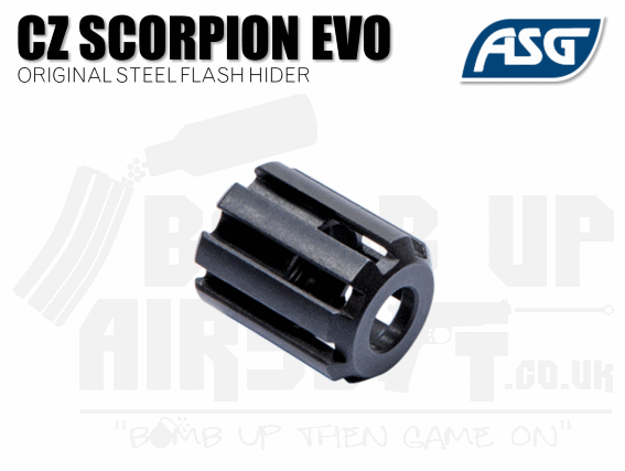 ASG Scorpion Evo 3 Original Steel Flash Hider