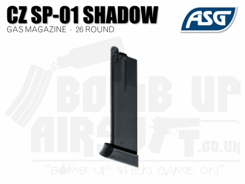 ASG CZ SP-01 Shadow 26rnd Gas Magazine