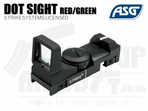 ASG Strike Systems Red/Green Dot Sight