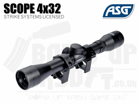 ASG Strike Systems 4x32 Rifle Scope