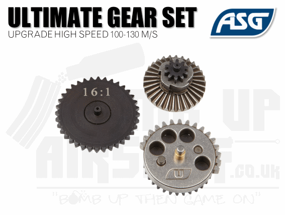 ASG Ultimate Upgrade Gear Set - High Speed