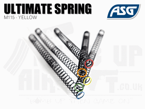 ASG Ultimate Upgrade Spring M115 Yellow