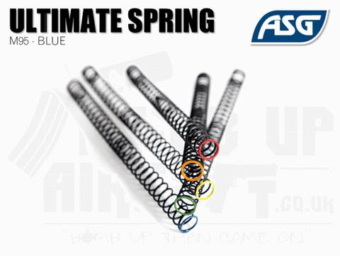 ASG Ultimate Upgrade Spring M95 Blue