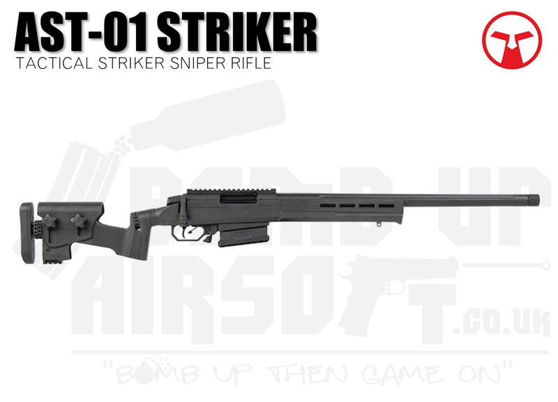 Ares Amoeba Tactical Striker AST-01 Sniper Rifle - Black