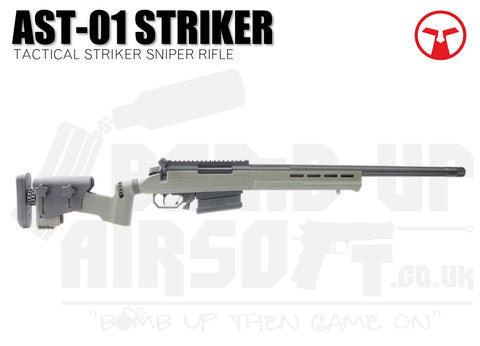 Ares Amoeba Tactical Striker AST-01 Sniper Rifle - OD Green