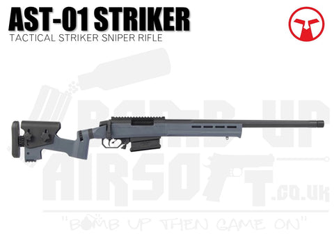 Ares Amoeba Tactical Striker AST-01 Sniper Rifle - Urban Grey