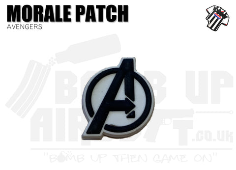 Avengers Logo Mini PVC Patch