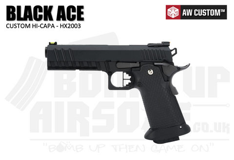 Armorer Works Custom Black Ace Hi-Capa (HX2003)