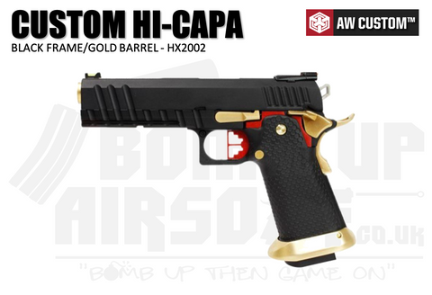 Armorer Works Custom Hi-Capa Black Slide/Gold Barrel - (HX2002)