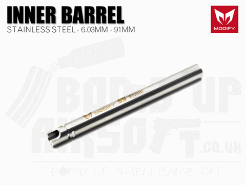 Modify Stainless Steel 6.03mm Precision Barrel - 91mm