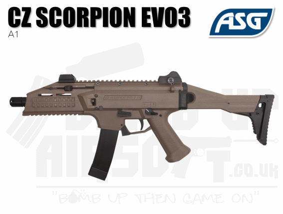 ASG Scorpion Evo 3 A1 2020 - FDE - New and Upgraded!