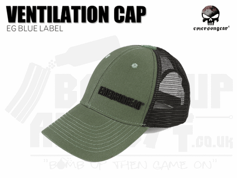 Emerson Gear Blue Label Ventilation Cap - Sage Green