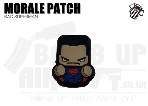 Bad Superman Mini PVC Patch