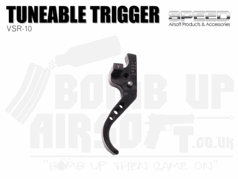 Speed VSR-10 Tunable Trigger - Black