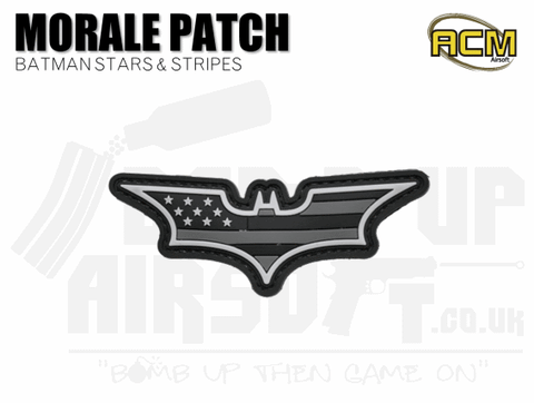 Batman airsoft morale patch