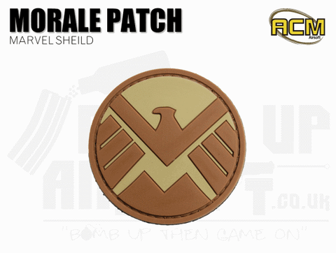 MARVEL SHIELD AIRSOFT MORALE PATCH