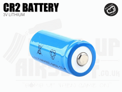 Big Foot CR2 Battery