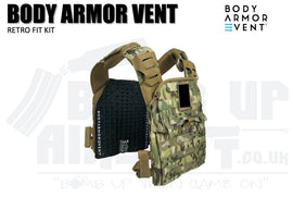 Body Armour Vent - Retro Fit Kit - X LARGE