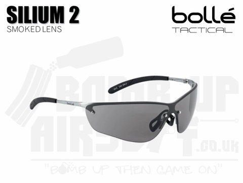 Bolle Silium 2 Glasses - Smoked Lens