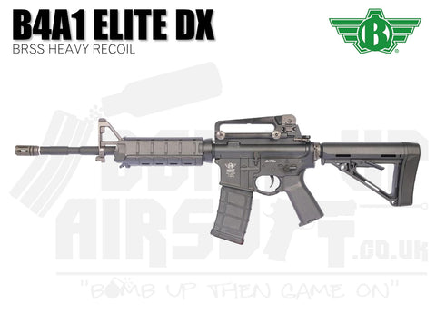 Bolt B4A1 Elite DX BRSS Heavy Recoil Black Airsoft Rifle