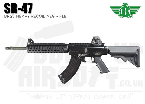 Bolt SR47 BRSS Heavy Recoil Black Airsoft Rifle