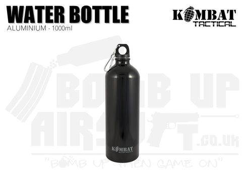Kombat UK Aluminium Water Bottle - 1000ml