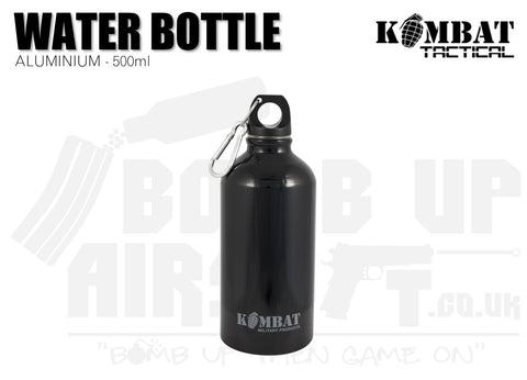 Kombat UK Aluminium Water Bottle - 500ml