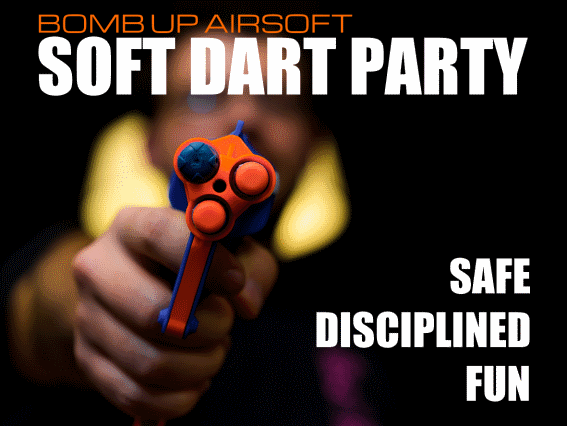 Book a Soft-Dart Party