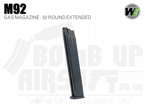 WE M92 Extended GBB Pistol Magazine