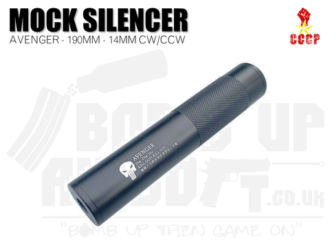 CCCP Avenger Silencer - Full Metal - 190mm