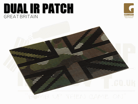 Clawgear Dual IR Great Britain Patch